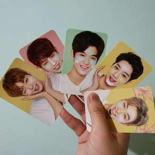 wanna one messge cards