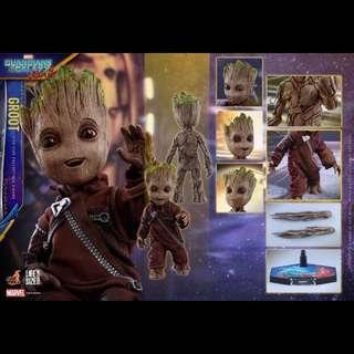 全新 1:1 Hot Toys HotToys Baby Groot Guardians of the Galaxy 小樹人 LMS004