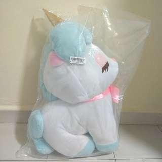 Authentic unicorn plush