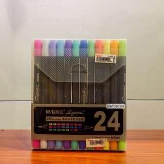 M&G Signme Brush Pens (24 colors)