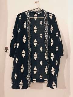 Kimono Cardigan Tribe Design