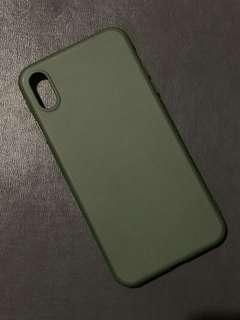 HelpToFUNdraise iPhone XS Max Case - Army Green