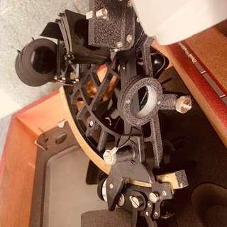 Vintage sextant unused and new old stock