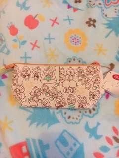 日本Disney chip and dale 筆袋