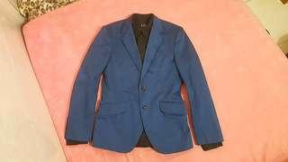 Formal Suit SLIM Fit Blazer Navy Blue - GOOD CONDITION !!