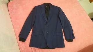 Formal Suit SLIM Fit Blazer Dark Blue - GOOD CONDITION !!