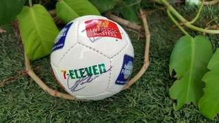 7-Eleven Mini Soccer Ball signed by Liverpool Masters