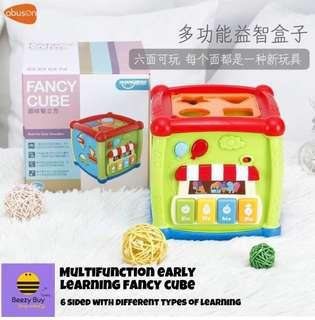 🔥多功能益智趣味盒子 | Multifunction Early Learning Fancy Cube (现货 | Ready Stock)