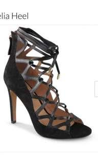 WITTNER LEATHER LACE UP HEEL