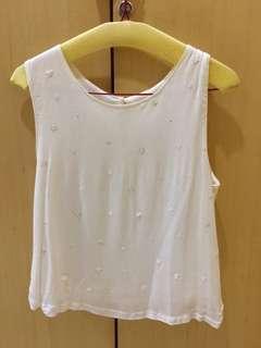 (NEW) #OnlineSale Mango sleeveless tank top size S