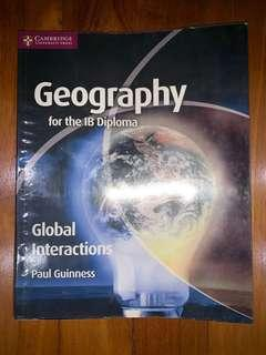 IB Geography HL Global Interactions textbook by Paul Guinness