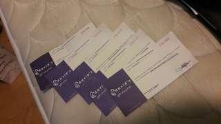 David Salon Vouchers/ Gift Check
