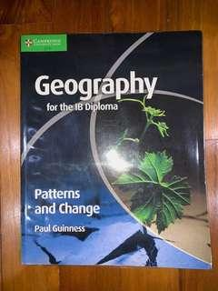 IB Geography HL/SL Patterns and Change textbook by Paul Guinness