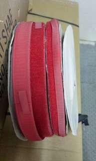 魔術貼💜 25mm和12mm💖紅色