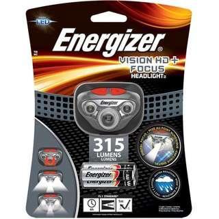 Energizer 勁量 HDD32 315流明 Vision HD+ Focus LED 5檔 頭燈 紅光夜視
