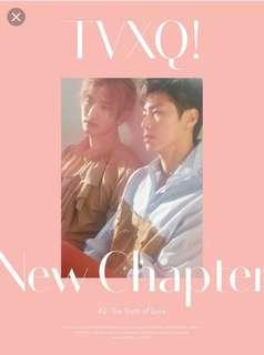 TVXQ ALBUM NEW CHAPTER