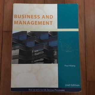 IB Business and Management textbook by Paul Hoang (2nd edition)