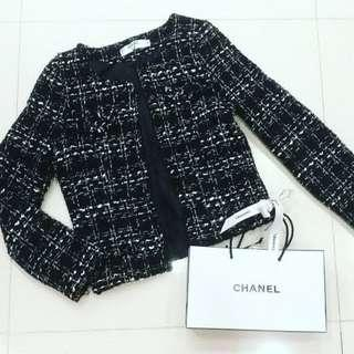 Chanel Knitted Wool Jacket