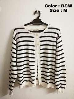 #APR10 Stripes Cardigan