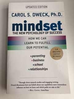 Mindset Carol S. Dweck, Ph.D. Book