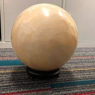 風水石球 [20cm] 連實木底座