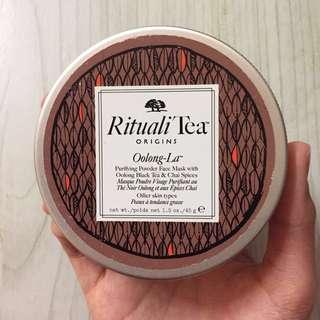100% Authentic Origins Rituali Tea Purifying Powder Face Mask