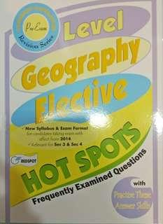 O-Level Geography Elective FEQ