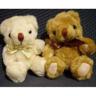 *可愛娃娃 買五送一* 婚禮小熊 絨毛娃娃 玩偶 布偶