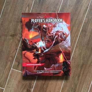 🚚 Dungeons & Dragons Players Handbook 5e