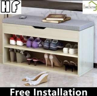 Shoe cabinet/Shoes rack/60cm/80cm/Storage bench