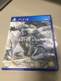 Monster hunter world 中文板