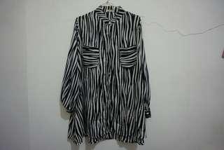 Blouse Warna Zebra