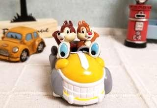☆中古☆ 💯正品 Tokyo Disneyland Chip n Dale 大鼻 鋼牙 奇奇 蒂蒂 玩具車