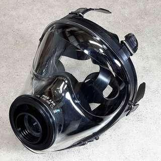 Israeli and NATO SGE Military Spec Full Face Gas Mask Respirator NBC