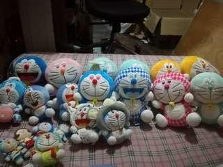 Doraemons sold by pieces 350 highest 80 lowest
