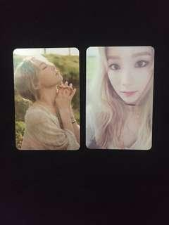 [CLEARANCE] TAEYEON 'I' OFFICIAL PHOTOCARDS