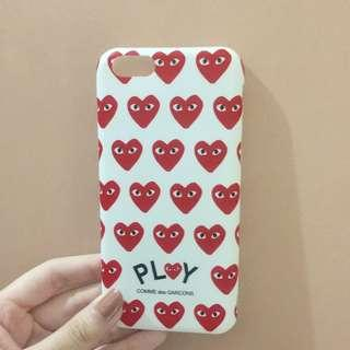 CDG Play Iphone 6 case