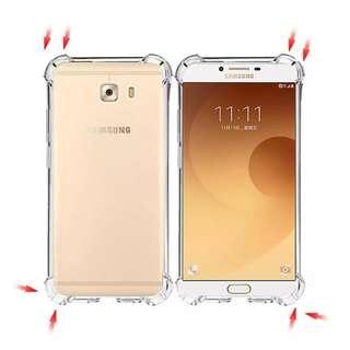 Samsung Galaxy C9 Pro Anti Shock Transparent Case #CNY888