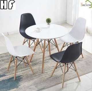 Dining table/Eames table/Outdoor table/Black or White