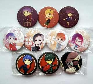 Tokyo Ghoul Button Badges & Art Prints #CNY888