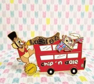 ☆包郵☆ Chip & Dale fantasy pin LE40 (pin on pin) 大鼻 鋼牙 奇奇 蒂蒂 pin 徽章