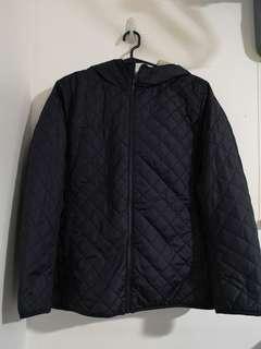 Uniqlo Blue Hooded Jacket