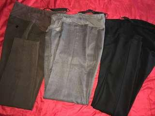 Maternity Trousers - set of 3