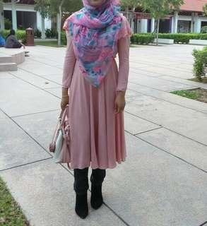 [Free Post sm] Midi Dress Princess Long Sleeve #MMAR18