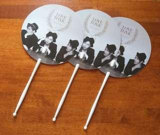 Royal Pirates - Love Toxic Promo Hand Fan (3 pieces)