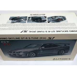 AUTOART 1/18 R34 S-Tune S1