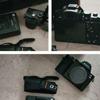 SONY A7S mark i (body only, box lengkap)