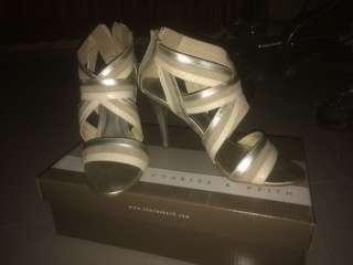 CHARLES & KEITH OFF WHITE