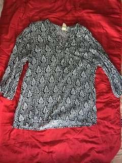 3/4 sleeves top
