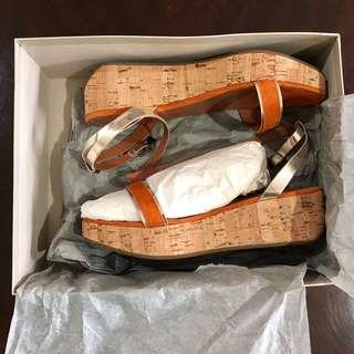 Fabio Rusconi Orange Platform Wedges